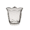 Vaza flori din cristal Stella f&d, 11,5x11 cm, Transparent