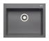Chiuveta bucatarie Pyramis granit ISTROS 61x50 1B Iron Grey Cod: 070045411