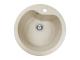 Chiuveta pentru bucatarie soft compozit Pyramis Round Durothek 1B Cod: 29097011