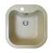 Chiuveta pentru bucatarie soft compozit Pyramis Square Durotehk 1B Cod: 29096011
