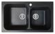 Chiuveta pentru bucatarie soft compozit Pyramis Twin Artithek 1&3/4B Cod: 19084006