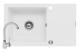 Set Pyramis chiuveta granit Mido Plus & baterie Bello Alb Cod: 890021511B