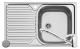Set Pyramis inox chiuveta bucatarie CORE 1B 1D DR LN + baterie ASALIA Cod: 101039901AS