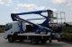 Nacele autosasiu GX 19-10, Inaltime max 18,7 m, Regim de lucru lateral 10,0 m, Sarcina utila 200 kg