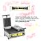 Toaster inox dublu electric