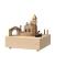 Cutiuta Muzicala Rotativa din Lemn - Gondola - Venetia