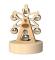 Cutia Muzicala din Lemn - Roata Carusel