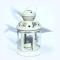 Felinar alb metal pentru lumanare pastila -Lavanda - 8534