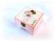 Cutie lemn decorata - fetita cu flori - 123528
