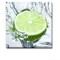 Tablou Fresh Lime Splash - 30x30 cm