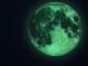StIcker fosforescent de perete Luna