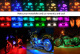 Lampa moto Ghost Rider