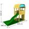 Loc de joaca pentru copii Jungle Gym Barn
