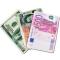 Mouse pad design bancnota Euro