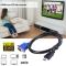 Cablu conectare VGA - HDMI 1,5m