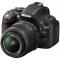 Aparat foto Nikon D5200 kit 18-55mm VR (black)