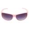 Ochelari de soare, lentile negre, rame roz, de dama