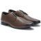 Pantofi barbati din piele naturala Garry cu perforatii, Gri 40