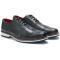 Pantofi barbati din piele naturala Mark, Negru 43