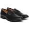 Pantofi barbati Ervin cu varf rotunjit fara siret, Negru 39