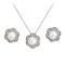 Set bijuterii cu perle White Trio Pearls