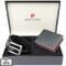 Set cadou barbati Pierre Cardin GBS741 - Exclusive Collection - cu protectie RFID 120 cm