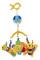 Lorelli - Carusel Muzical de Agatat la Carucior Bebe - Butterfly - 1031014 0000