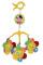 Lorelli - Carusel Muzical de Agatat la Carucior Bebe - Flowers - 1031012 0000